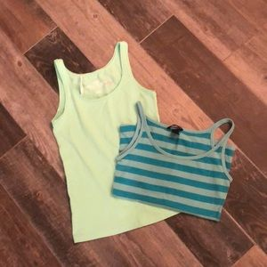 Lot of 2 tank tops